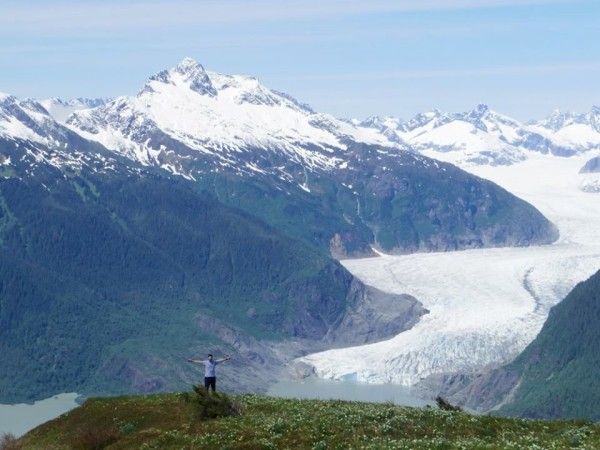Glacier view_photo by Dana Flerchinger