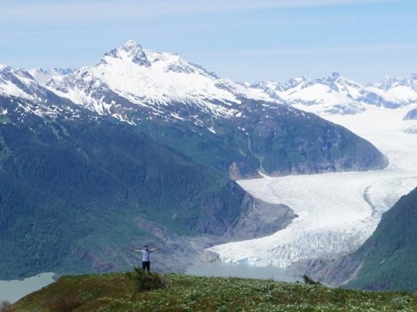Glacier view_photo by Dana Flerchinger