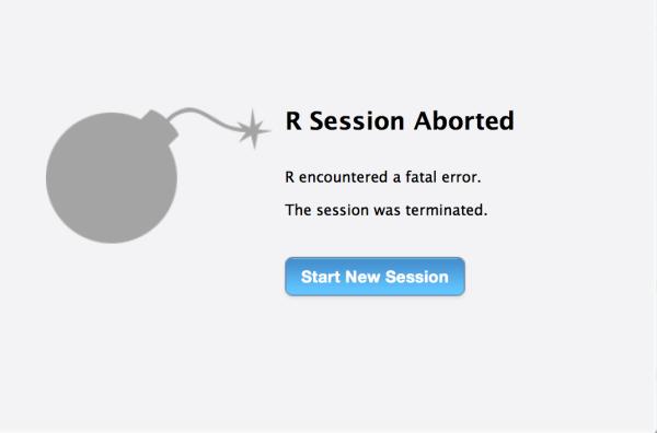 R Error Message